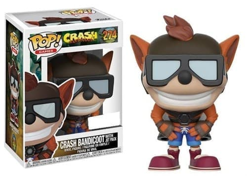 Фигурка Крэш Бандикут c Джет Паком (Crash Bandicoot with Jet Pack) № 274 - фото 13693