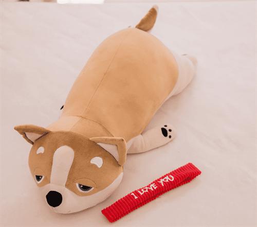 Мягкая игрушка Корги 55 см купить в Москве