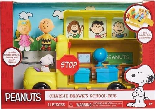 Игровой набор Школьный автобус из мультфильма Снупи и мелочь пузатая - фото 13739