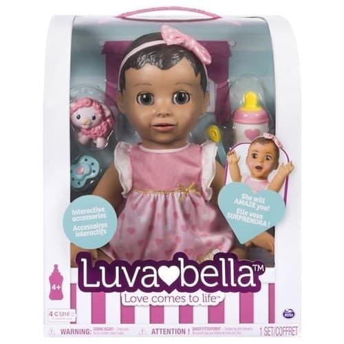 Кукла Лувабелла Брюнетка (Luvabella Baby Doll Brunette Hair) - фото 13755