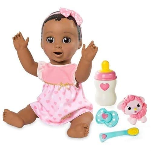 Кукла Лувабелла Темненькая (Luvabella Baby Doll Dark Brown Hair) - фото 13757