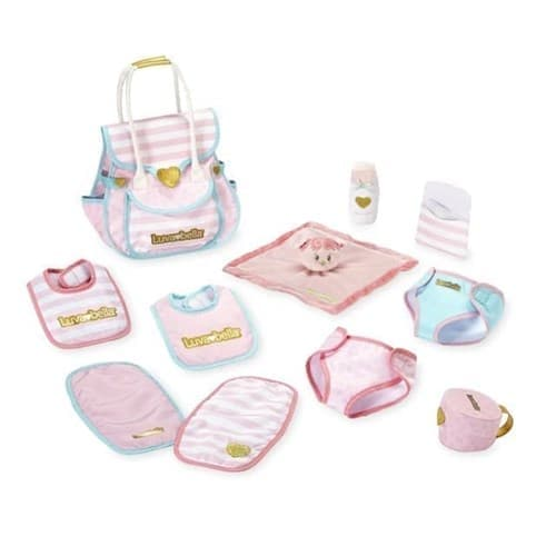 Набор аксессуаров для куклы Лувабелла (You & Me Luvabella Doll Diaper Bag Set) - фото 13763