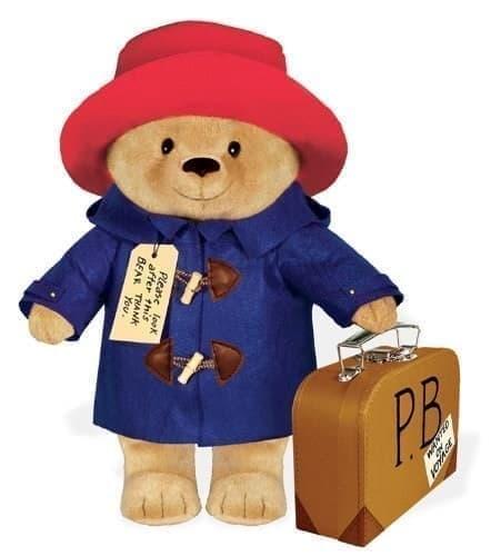 Плюшевая игрушка Паддингтон 40 см из фильма Приключения Паддингтона - фото 13767