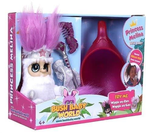 Мягкая интерактивная игрушка Bush Baby World Princess Melina (Принцесса Мелина) купить Москва