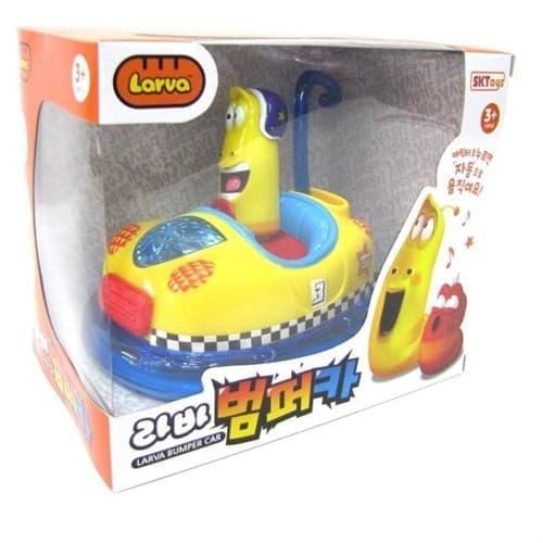 Игровой набор Червяк гонщик Ларва Смешные червячки - фото 14057