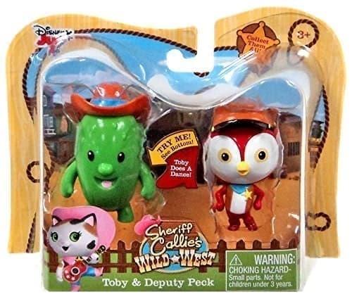 Игровой набор Тобби и Пек из мультфильма Шериф Келли и Дикий Запад - фото 14064