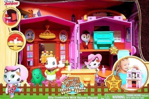 Игровой набор кафе Эллы из мультфильма Шериф Келли и Дикий Запад - фото 14066