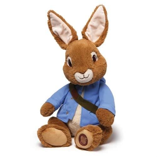 Мягкая игрушка Кролик Питер Почтальон из мультфильма - фото 14196