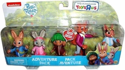 Набор игрушек героев из мультфильма Питер Кролик - фото 14205