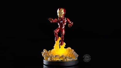 Купить фигурку Железного человека с подсветкой