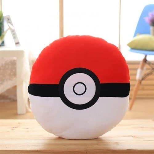 Мягкая игрушка Покебол Красно-белый (Pokeball 32 Х 32 см) купить в Москве