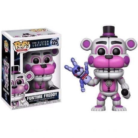 Фигурка Фантайм Фредди ФНАФ (Funtime Freddy Five Nights at Freddy's Exclusive Pop) №225 - фото 14611