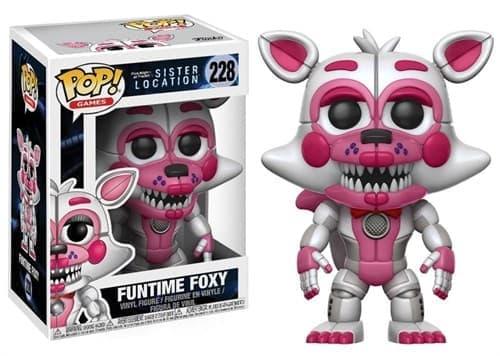 Фантайм Фокси Funtime Foxy фигурка Фанко Поп Funko Pop №228 - фото 14613