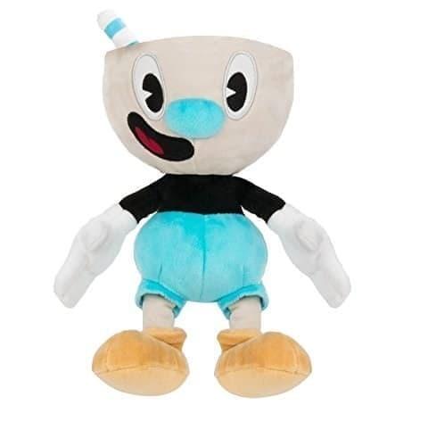 Купить игрушку плюшевый Магмен (Mugman) 25 см с игры Капхед (CupHead)