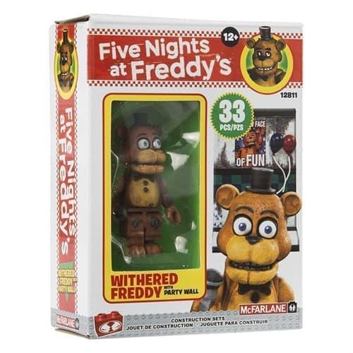 Конструктор 5 ночей Фредди на Вечеринке (FREDDY WITH PARTY WALL) (33 дет) - фото 15755