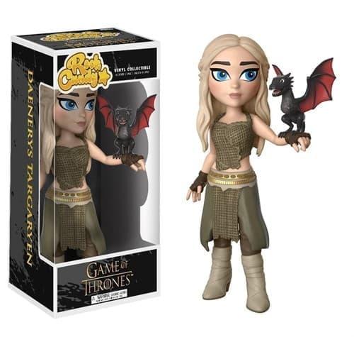 Фигурка Funko Rock Candy Daenerys Targaryen: Дейнерис с игры престолов - фото 15835