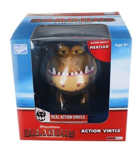 Подвижная виниловая фигурка дракон - Сарделька Громмель (Action Vinyl: Meatlug) (20) - фото 15909