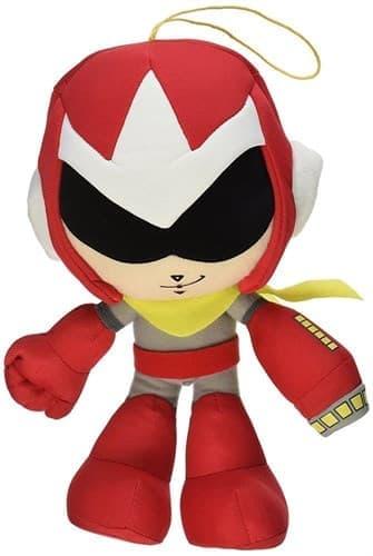 Плюшевый Мегамен красного цвета (Great Eastern red Mega Man) купить