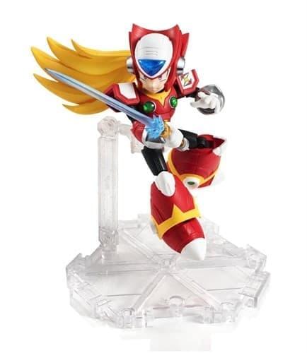 Подвижная игрушка Мегамен Икс красного цвета (Megaman X) 15 см купить