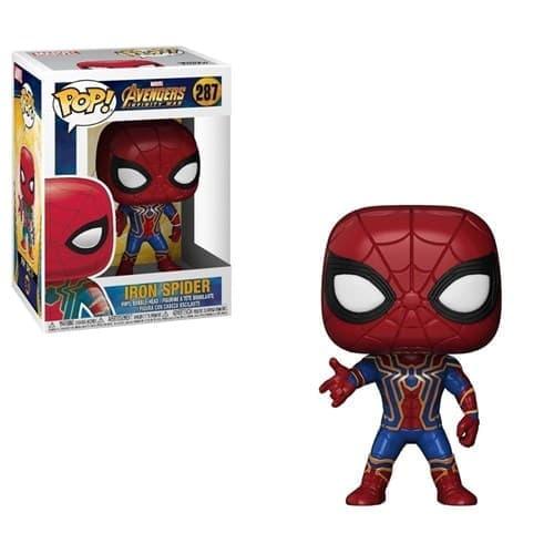 Фигурка Железный Паук (Iron Spider) из фильма Мстители: Война бесконечности № 287 - фото 15998
