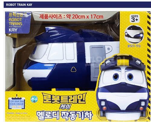 Игрушка - поезд КЕЙ (Kay) из мультфильма Роботы-поезда - фото 16221