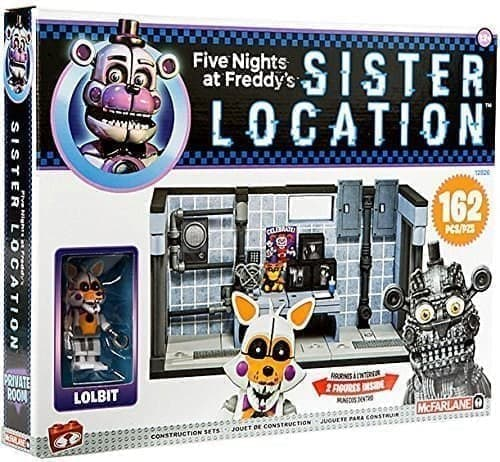 Конструктор McFarlane Toys ФНАФ Эксклюзив (Five Nights at Freddy) 162 детали - фото 16282