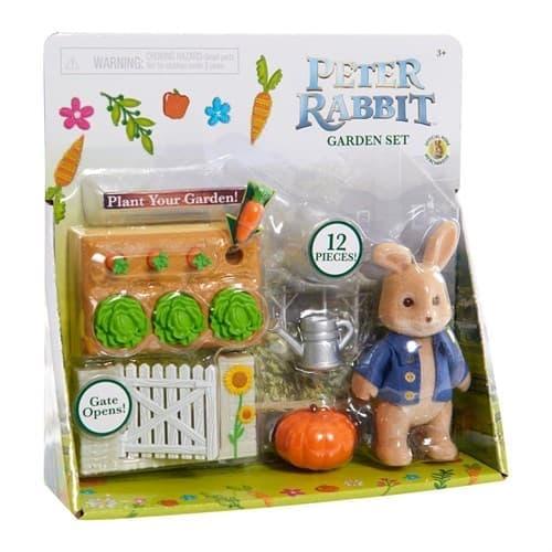 Набор игрушек  Питер Кролик приключения на огороде (Peter Rabbit Garden Set) купить МКАД