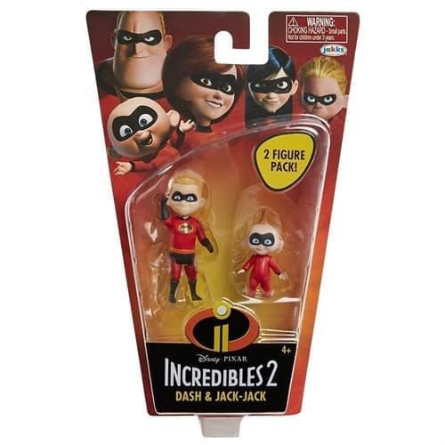 Подвижные фигурки Шастик и Джек Джек Суперсемейка (The Incredibles 2 Dash Jack) купить в Москве