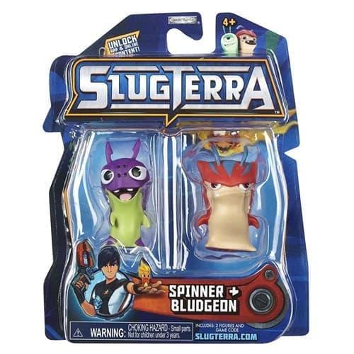 Набор с мини-фигурок Спинер и Бладжеон с мультфильма Слагтерра (Slugterra Mini Figure 2-Pack Spinner & Bludgeon) - фото 16417