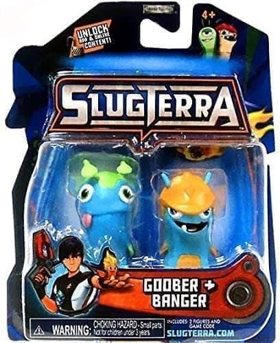 Набор с мини-фигурок Губер и Бангер с мультфильма Слагтерра (Slugterra Mini Figure 2-Pack Goober & Banger) с кодом для игры купить Москва