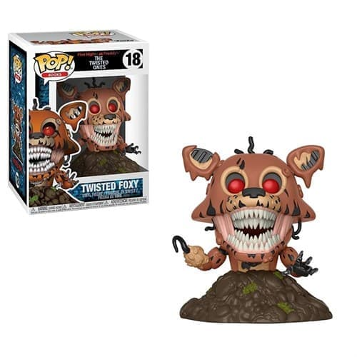 Фигурка Скрученный Фокси (Funko Pop Five Nights At Freddy's Twisted Foxy) №18 - фото 16595