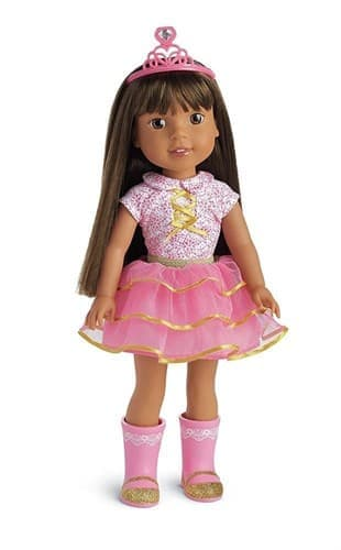 Кукла Ешлин American Girl WellieWishers Ashlyn с сериала Wellie wishers (Желание Велли) - фото 16651