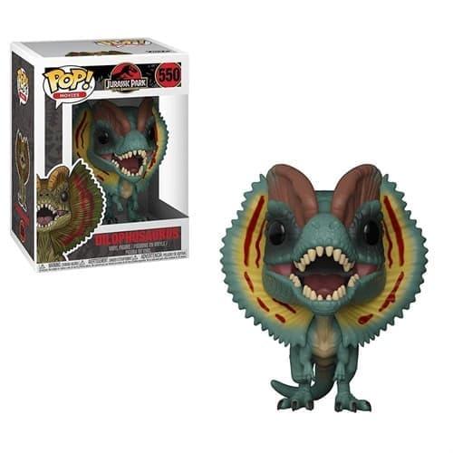 Фигурка Динозавр Дилофозаурус с фильма Парк юрского периода (Funko Pop Jurassic Park-Dilophosaurus)