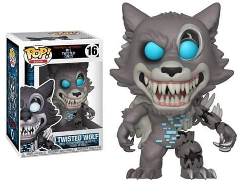 Фигурка Твистед Волк (Twisted Wolf) из игры Five Nights at Freddy 5 ночей с Фредди Funko pop № 16 - фото 16818