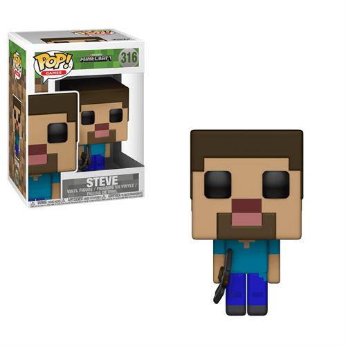Фигурка Майнкрафт Стив FUNKO POP! GAMES (Minecraft - Steve) - фото 16935