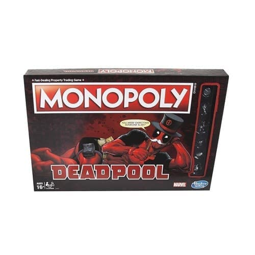 Настольная игра Монополия Дэдпул (Marvel Deadpool Edition Monopoly Game) - фото 16959