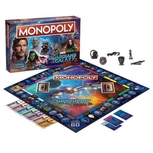 Настольная игра монополия Стражи Галактики (Guardians of the Galaxy Vol. 2 Monopoly Game) купить