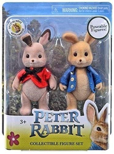 Набор игрушек Питер Кролик и Флопси (Figure Set Figures Peter Rabbit and Flopsy) купить Москва