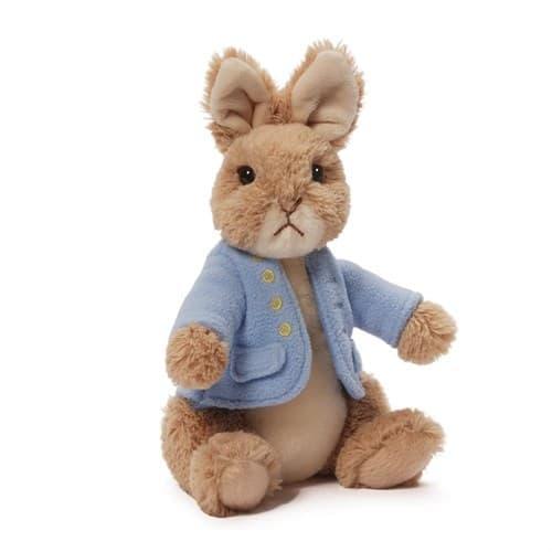 Мягкая игрушка Класический Кролик Питер из мультфильма большой 25 см - фото 17013