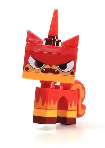 Фигурка Злая Юникитти MiniFigure - Angry Kitty Minifigure Red Unikitty - фото 17103