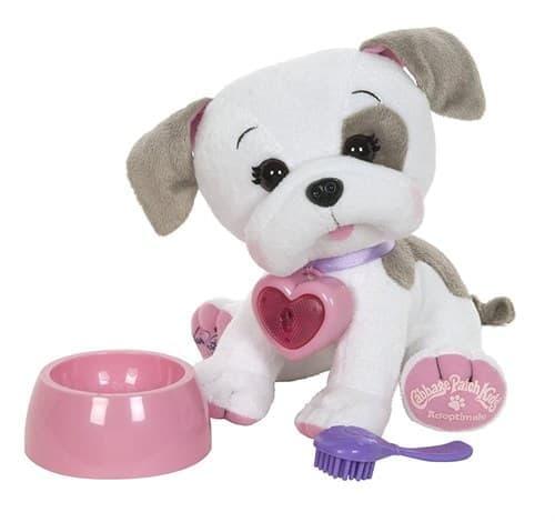 Плюшевый музыкальный пес бульдог - кукла капустка (Cabbage Patch Kids Adoptimals - Plush Pet Dog (Bulldog) 20 см - фото 17198