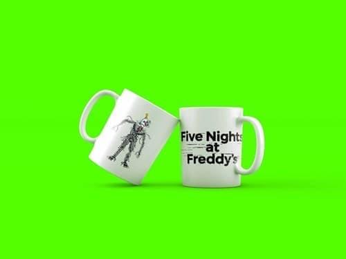 Кружка 5 nights at freddy Ennard купить