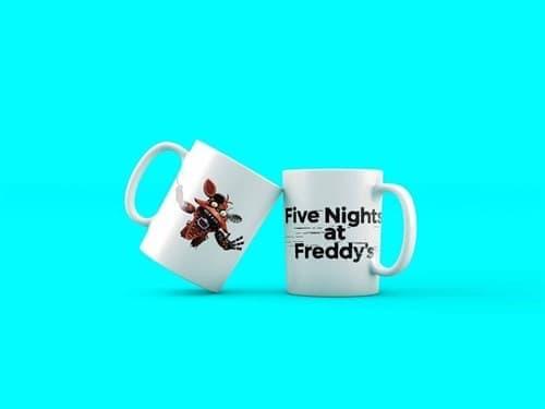 Кружка 5 nights at freddy Foxy купить