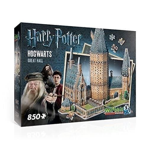 Конструктор Башня Хогвартс (3D Hogwarts Great Hall) 850 деталей - фото 17654