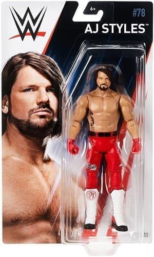 Подвижная фигурка Ей Джей Стайлс (AJ Styles WWE) 15 см купить