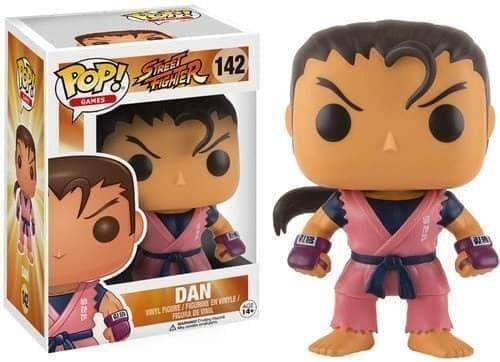 Фигурка Funko POP Street Fighter: Dan (Стрит Файтер Дан) # 142 купить Москва