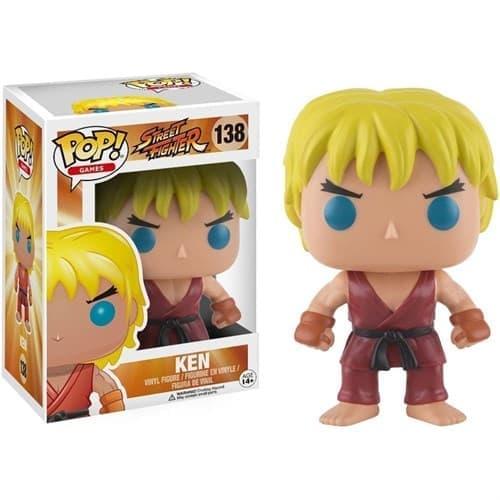 Фигурка Funko POP Street Fighter: Ken (Стрит Файтер Кен) #138 купить