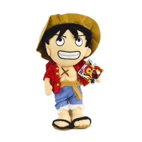 Плюшевый Луффи Ван Пис (One Piece Luffy Plush) 30 см - фото 17959