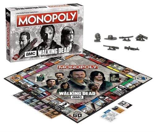 Настольная игра Монополия Ходячие Мертвецы (Walking Dead Monopoly Board Game) - фото 18288
