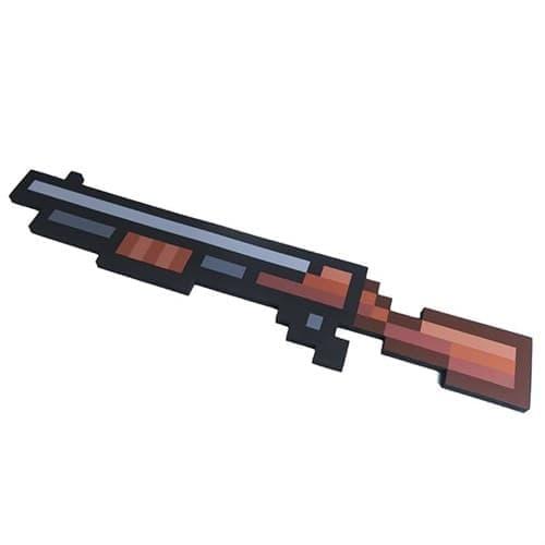 Миниган - винтовка пиксельная (75 см) - фото 19145
